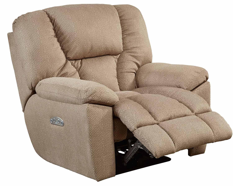 CatNapper Owens Power Headrest Power Recliner Chair - Doe