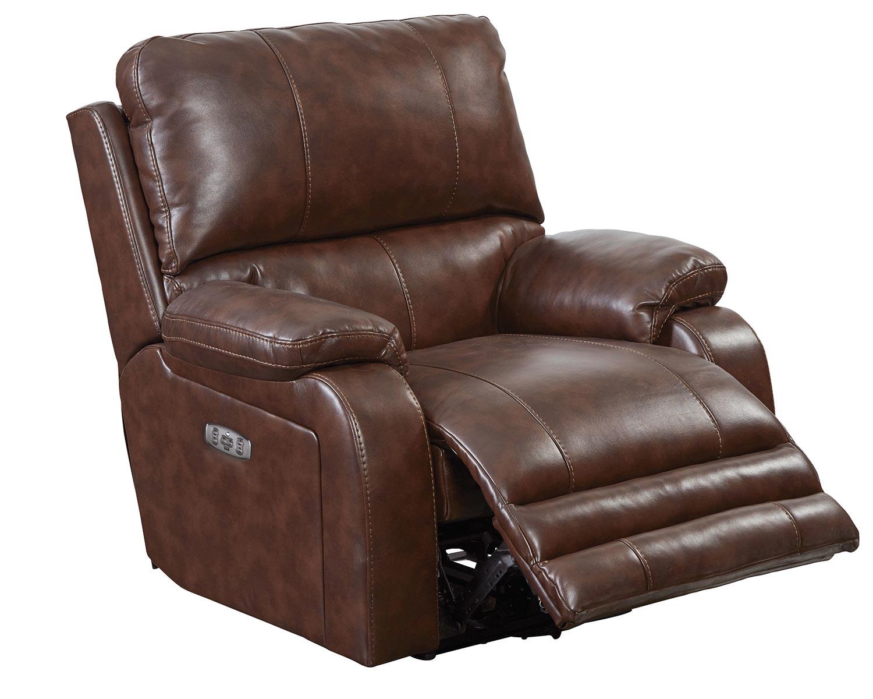 CatNapper Thornton Power Headrest Power Recliner Chair - Java