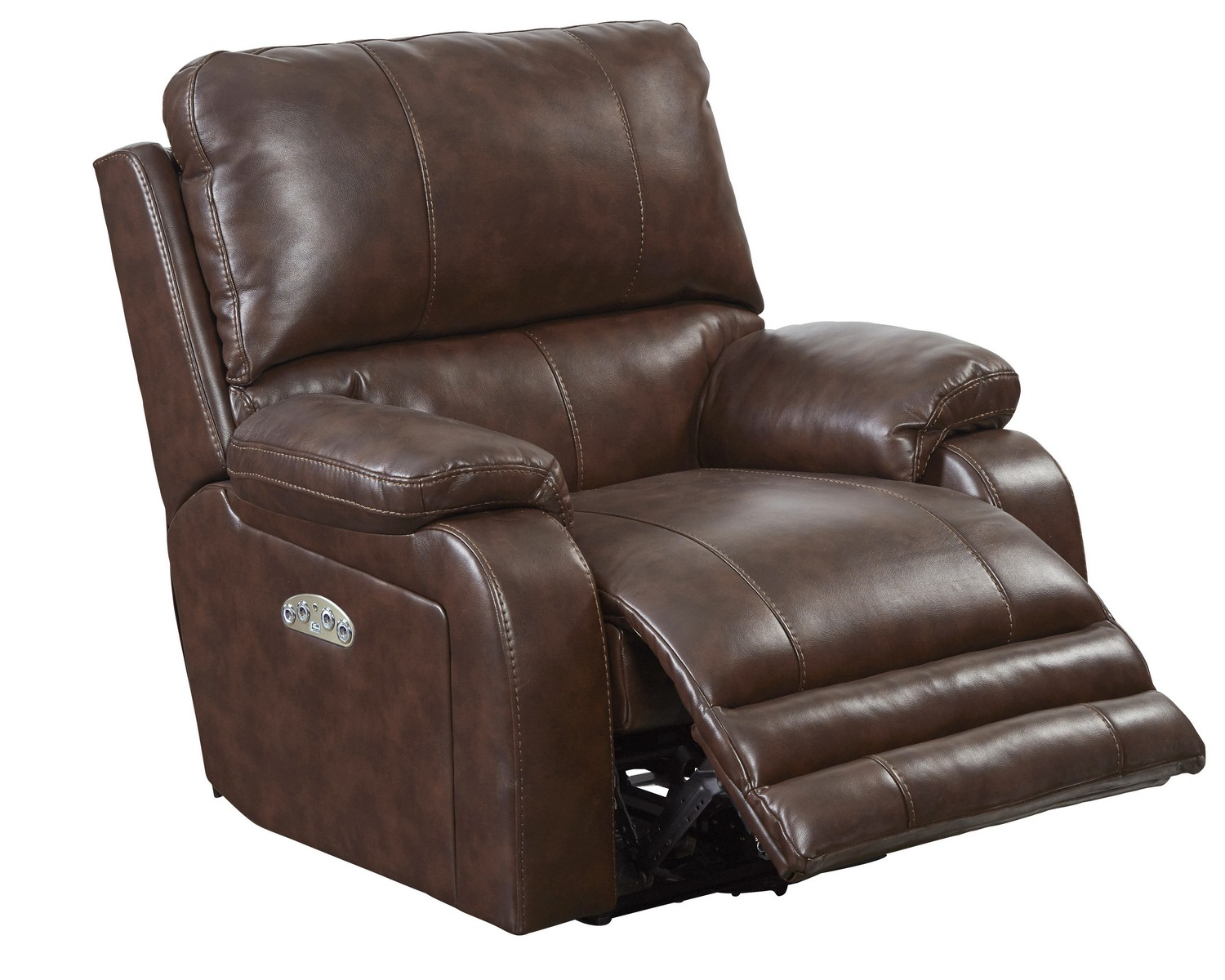 catnapper thornton power headrest power lay flat recliner java - Catnapper Recliner