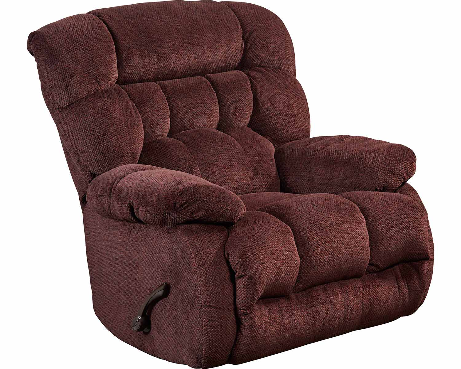 CatNapper Daly Chaise Rocker Recliner Chair - Cranapple