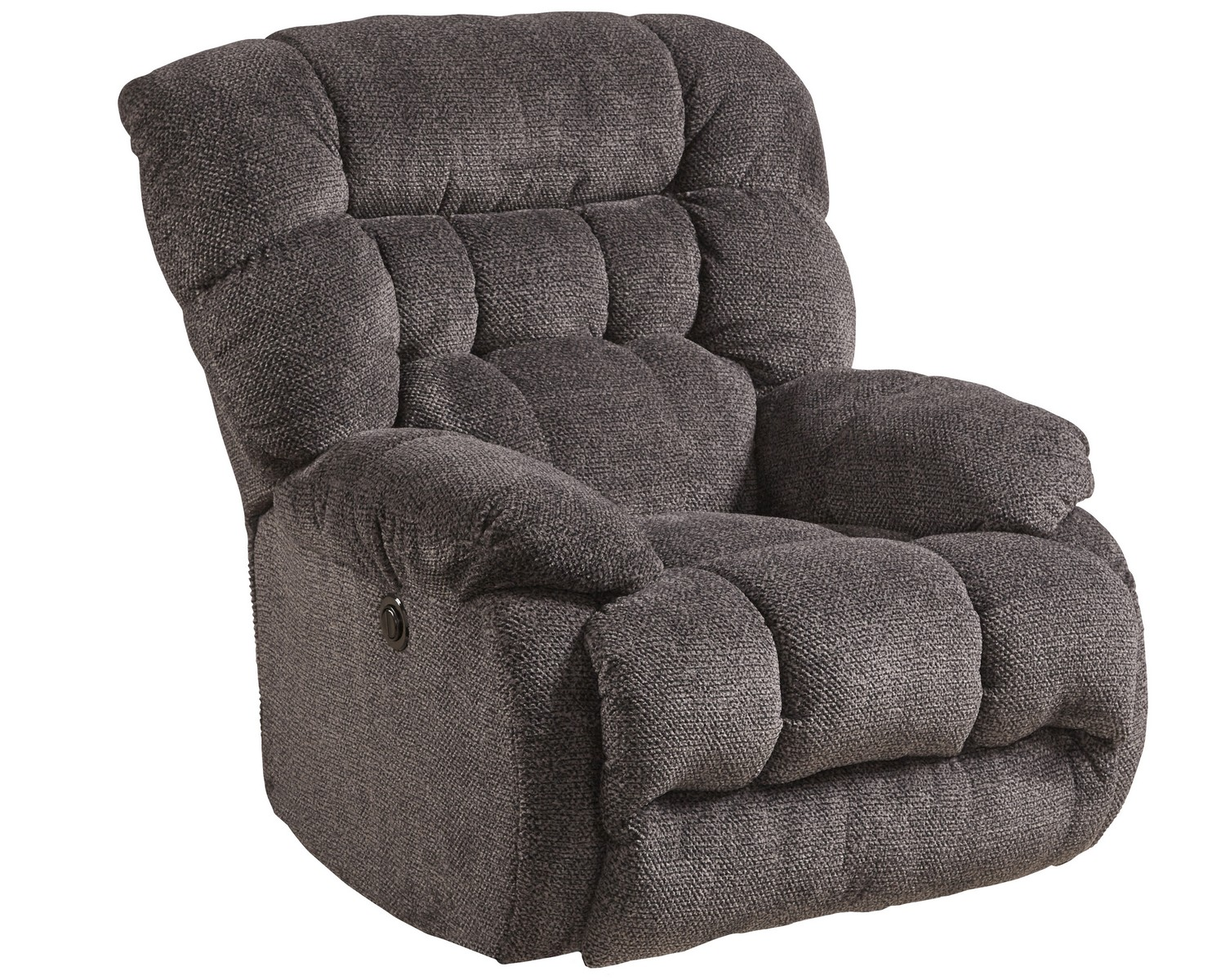 Catnapper Daly Chaise Swivel Glider Recliner Cobblestone