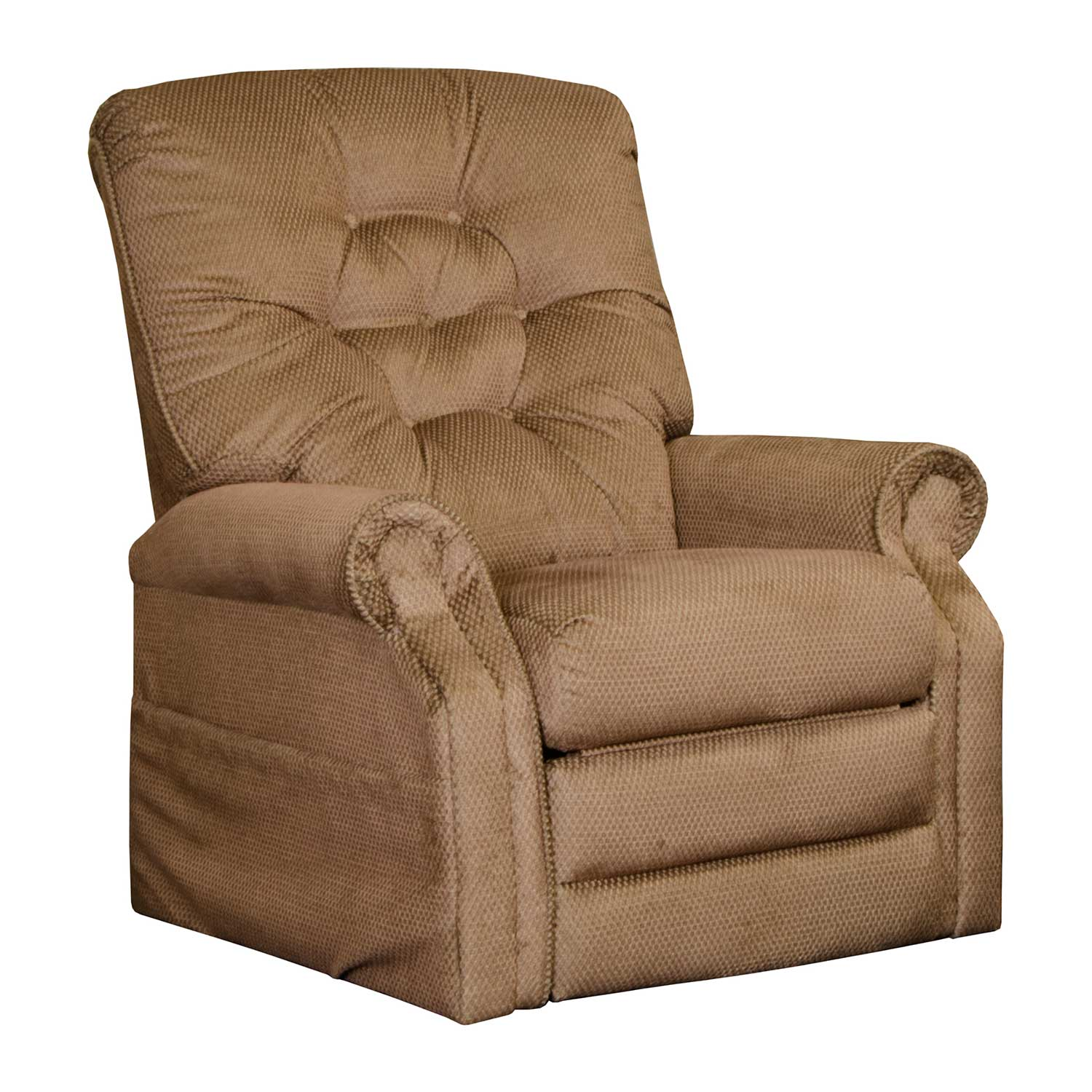 CatNapper Patriot Power Lift Recliner Chair - Brown Sugar