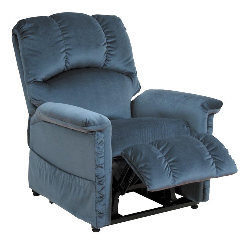Catnapper champion power lift lounger recliner blue cn 4826 blue at - Catnapper lift chairs recliners ...
