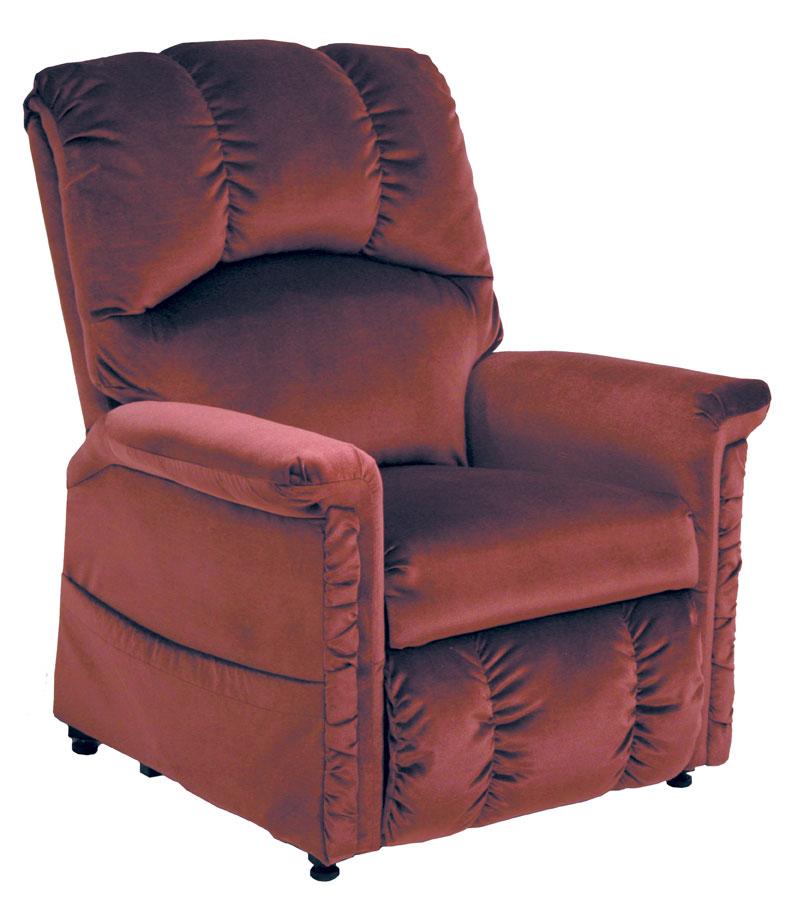 Cn 4826 brandy champion power lift lounger recliner brandy 34l x 42h