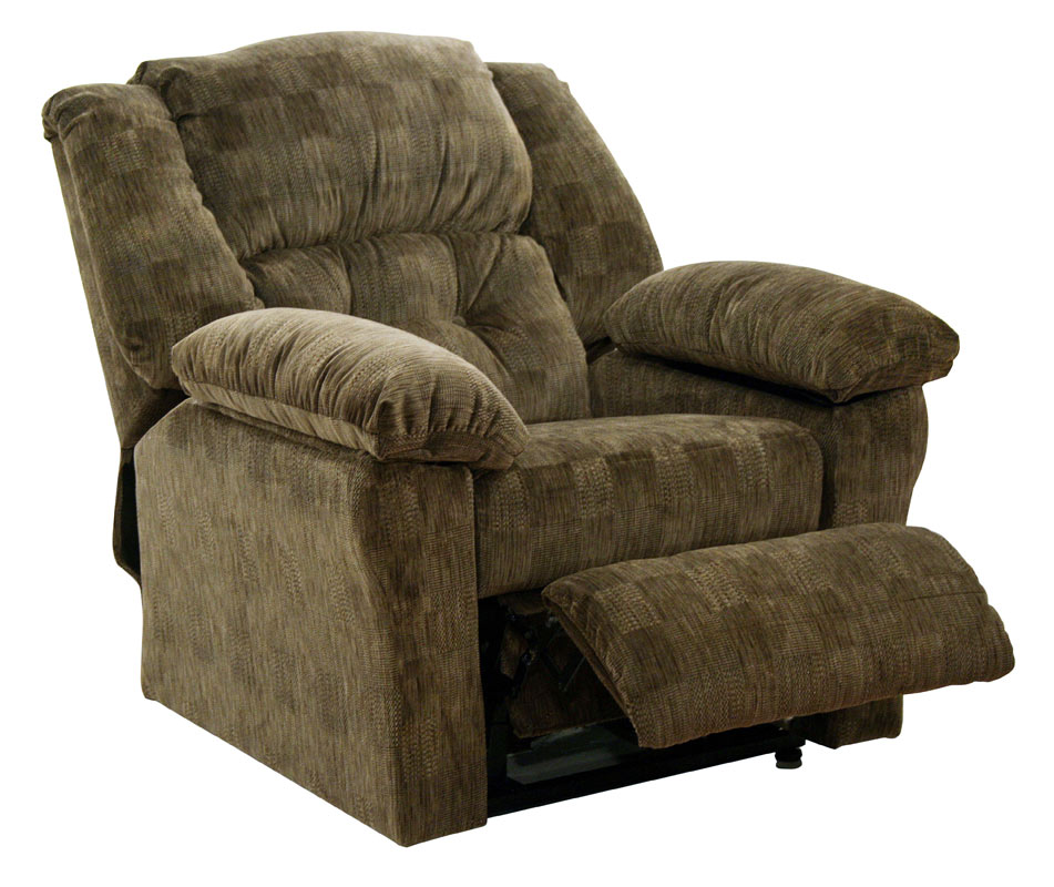 Catnapper Wellington Power Lift Full Lay Out Chaise Recliner With Storage Dune 4840 Dune