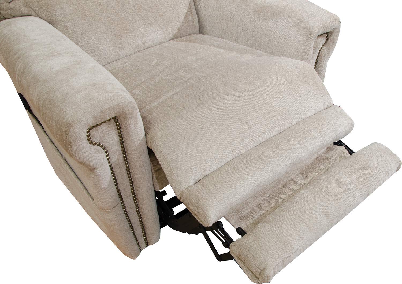 CatNapper Warner Power Headrest Power Lift Chair - Putty