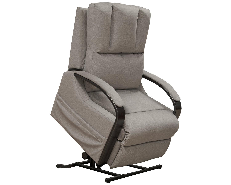 CatNapper Chandler Power Lift Recliner Chair - Aluminum