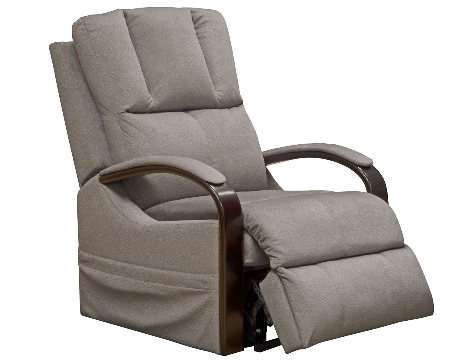 CatNapper Chandler Power Lift Recliner Chair - Aluminum