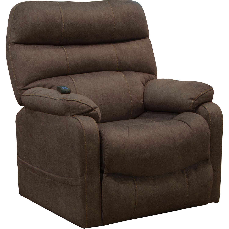 CatNapper Buckley Power Lift Recliner Chair - Chocolate