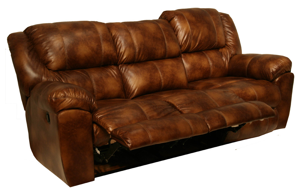 Catnapper Transformer Bonded Leather Ultimate Sofa With 3