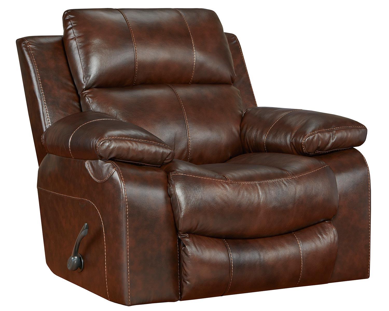 CatNapper Positano Rocker Recliner Chair - Cocoa