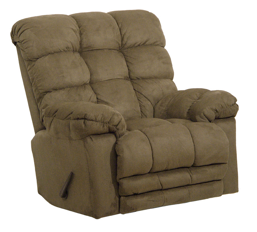CatNapper Magnum Chaise Rocker Recliner with Heat and Massage