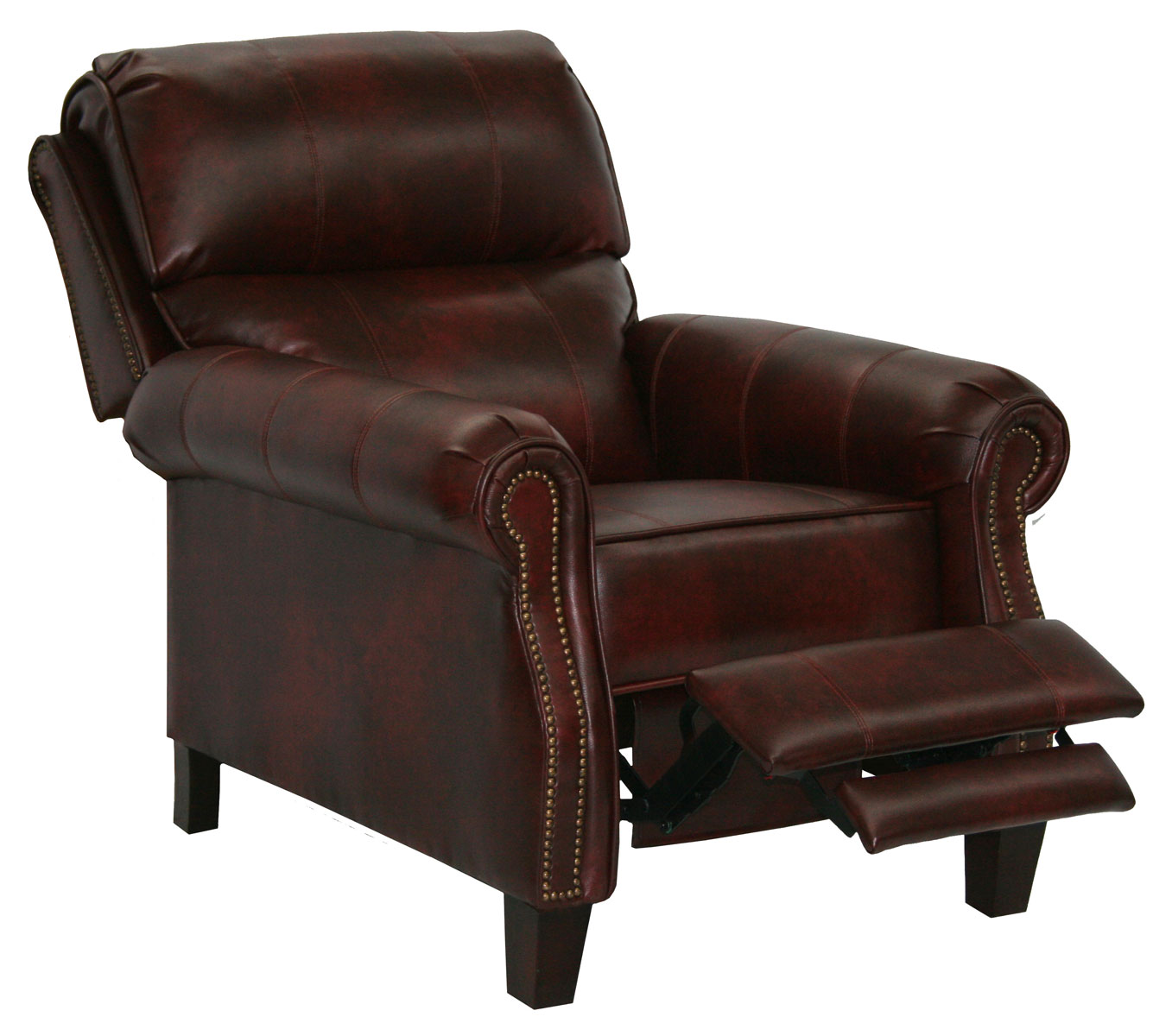Catnapper Frazier Bonded Leather Reclining Chair With