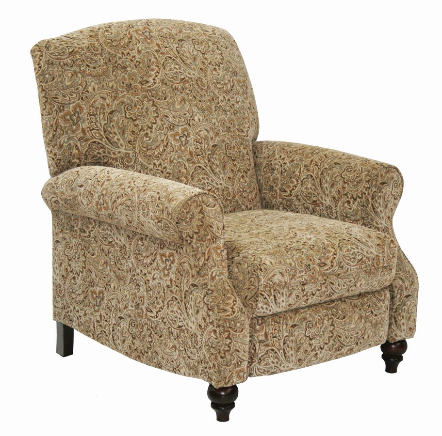 CatNapper Garrison Reclining Chair with Extended Ottoman