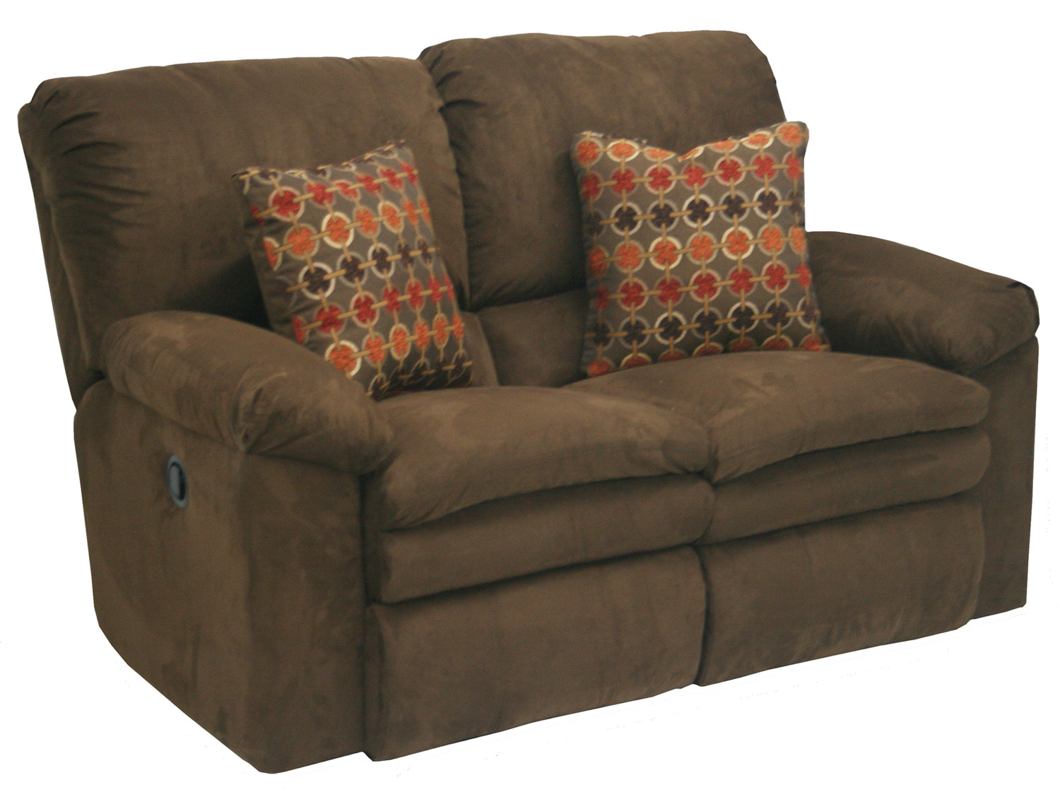 Catnapper Impulse Power Reclining Loveseat Godiva Cn 61242 Godiva