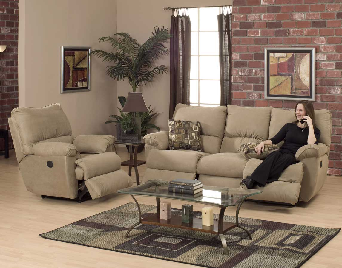 Cheap CatNapper Prism Power Sofa Set