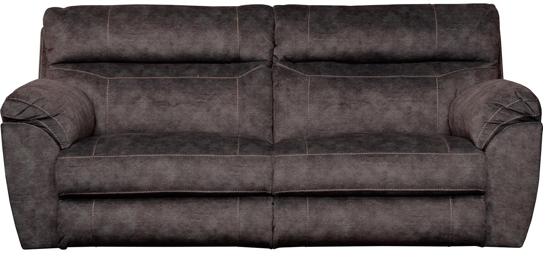CatNapper Sedona Power Reclining Sofa - Smoke