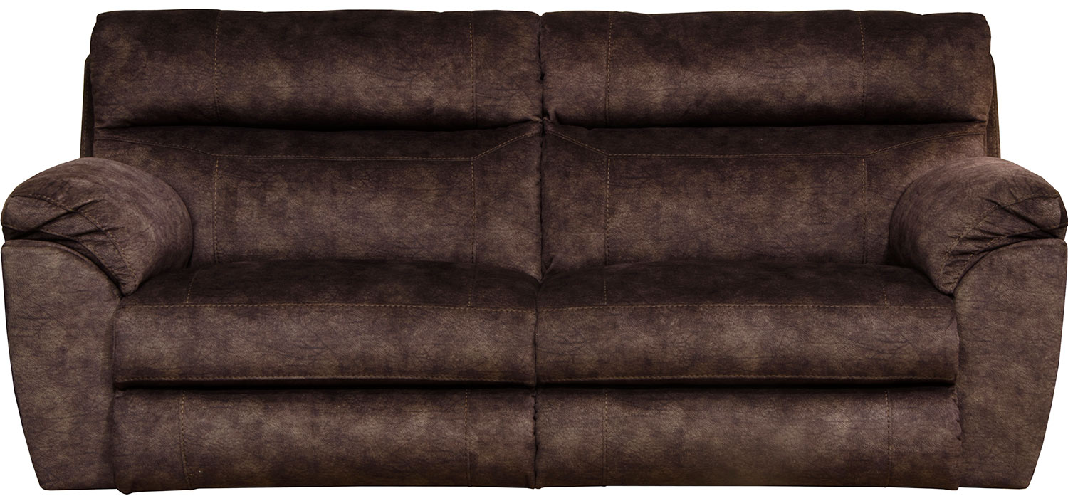 CatNapper Sedona Power Reclining Sofa - Mocha