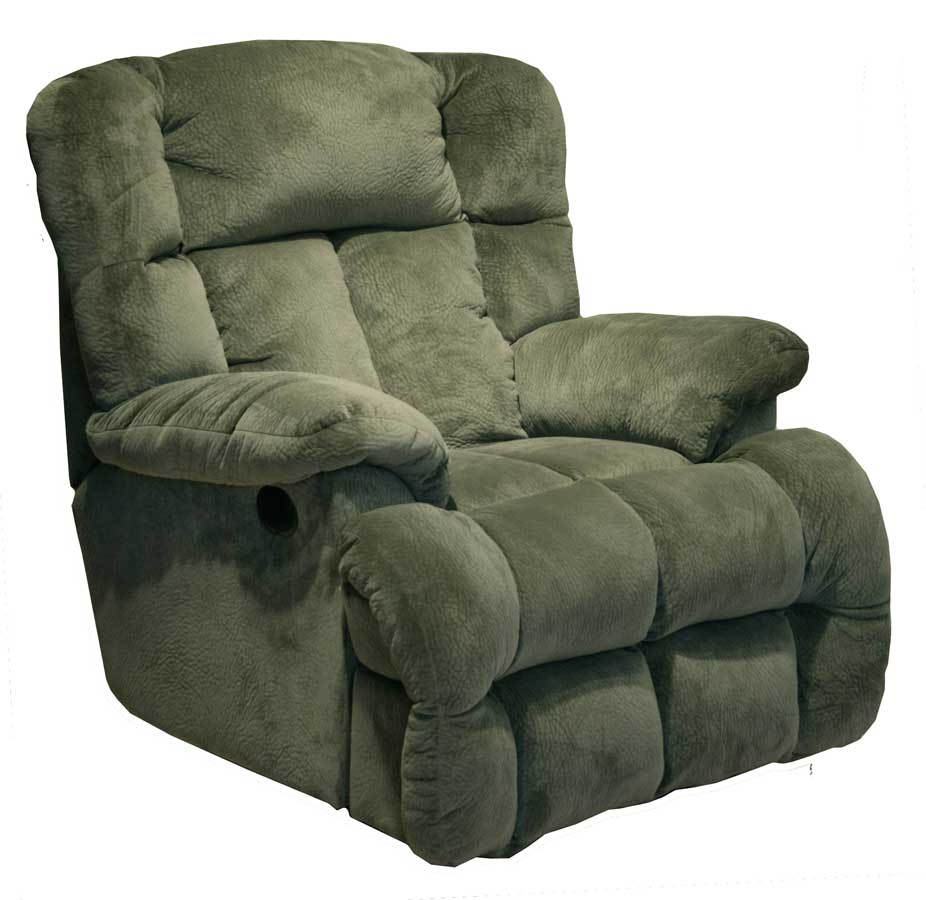 Catnapper cloud 12 power chaise recliner sage 6541 7 for Chaise and recliner