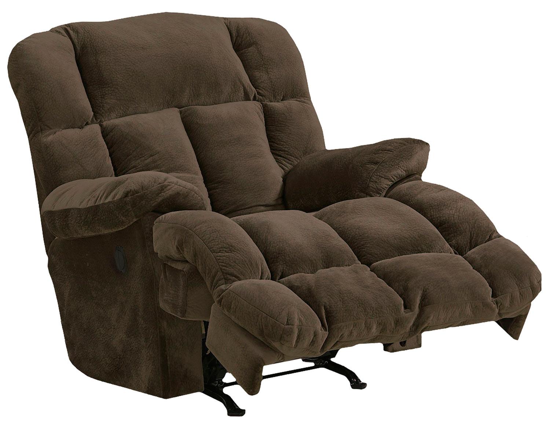 CatNapper Cloud 12 Power Recliner Chair - Chocolate