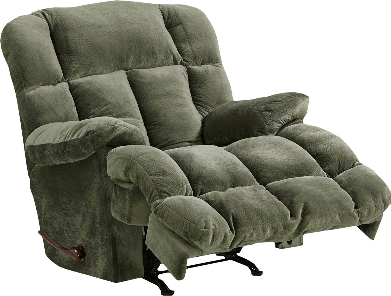 CatNapper Cloud 12 Chaise Rocker Recliner Chair - Sage