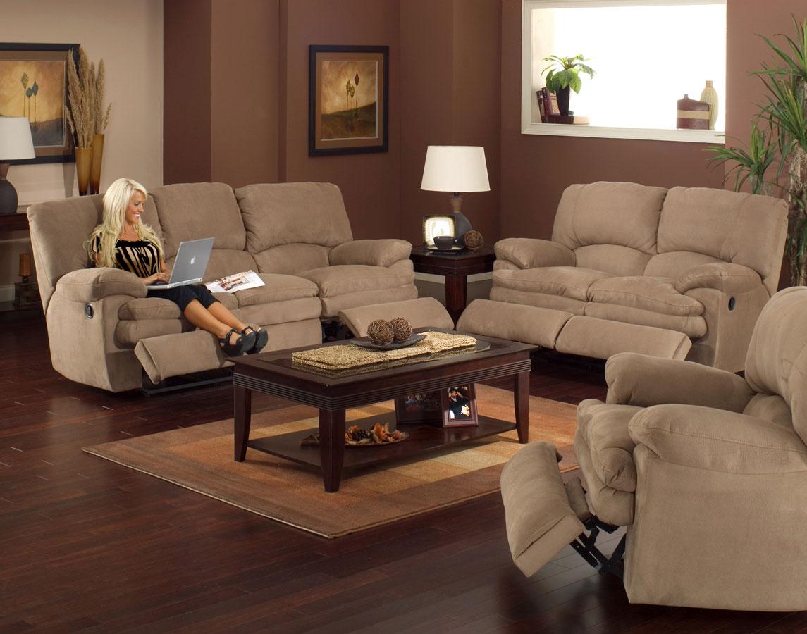 Cheap CatNapper Ovation Power Sofa Set
