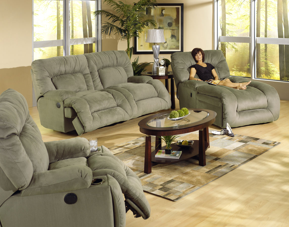 Catnapper jackpot sofa set jackpot set sage for Catnapper jackpot chaise