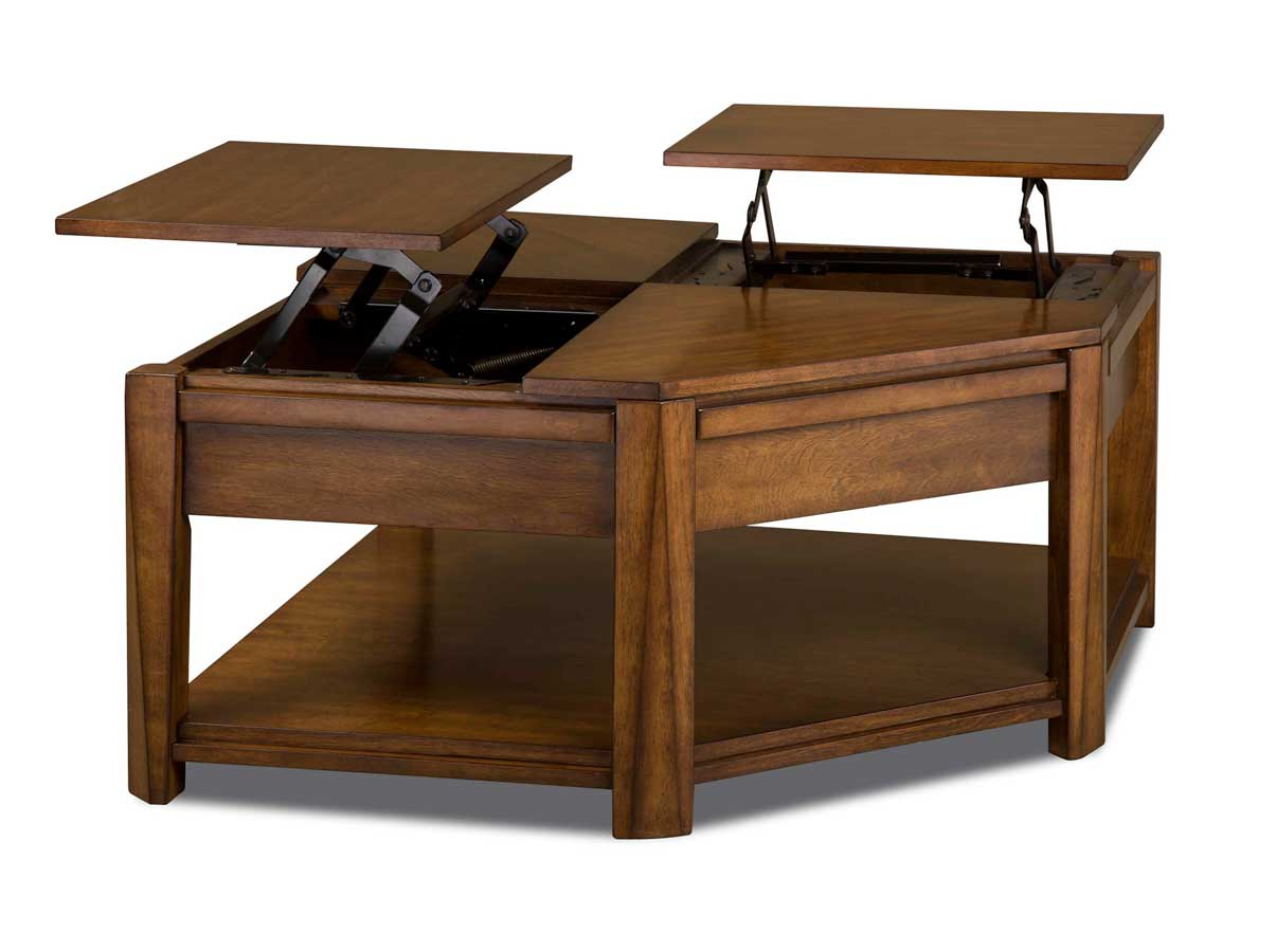 CatNapper 872 Series Double Lift Top Cocktail Table