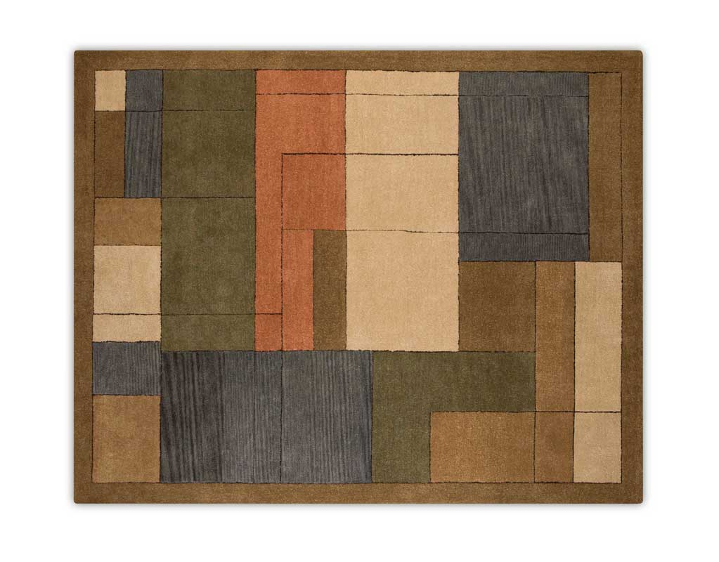 CatNapper 947 Series Wool Hand Tufted Rug