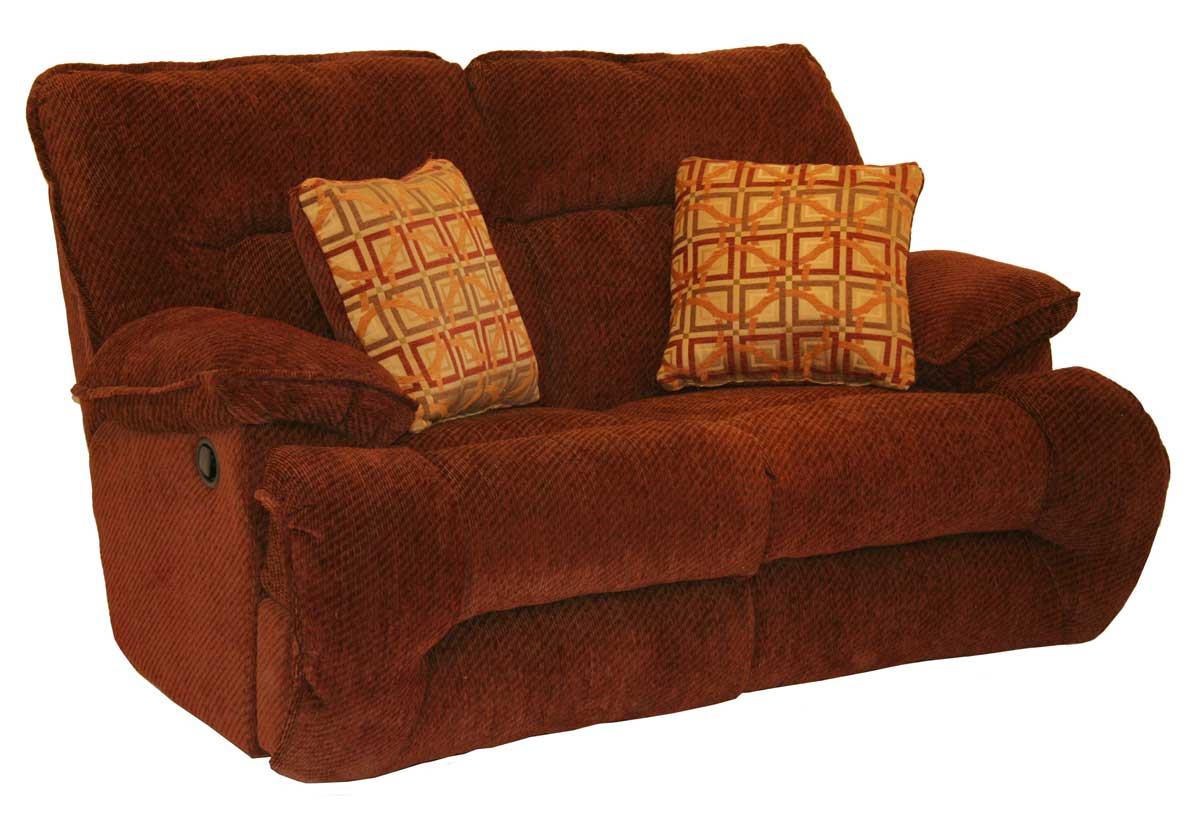 Catnapper bailey reclining sofa set crimson harvest cn bailey sofa set crimson harve at Catnapper loveseat recliner