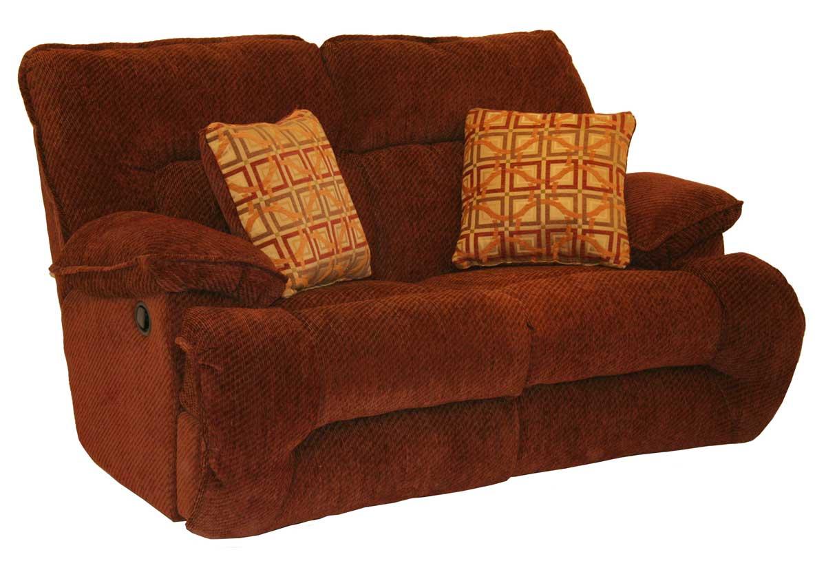 Catnapper Bailey Reclining Sofa Set Crimson Harvest Cn