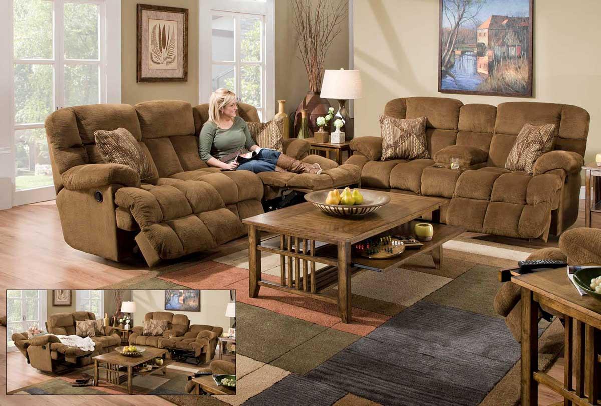 CatNapper Concord Lay-Flat Reclining Sofa Set CN-Concord