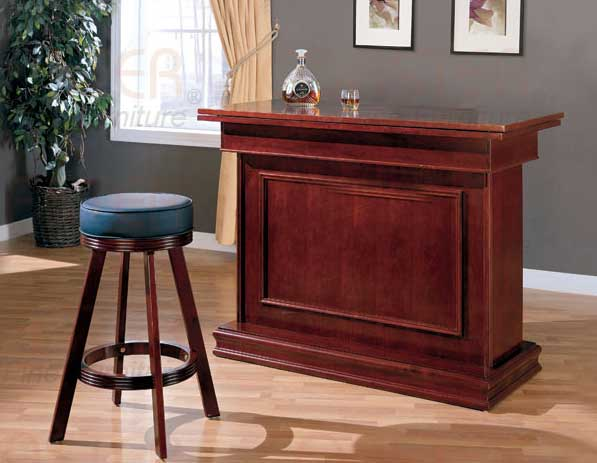Coaster 100128-Bar-Set 100128 Bar Set - Oak
