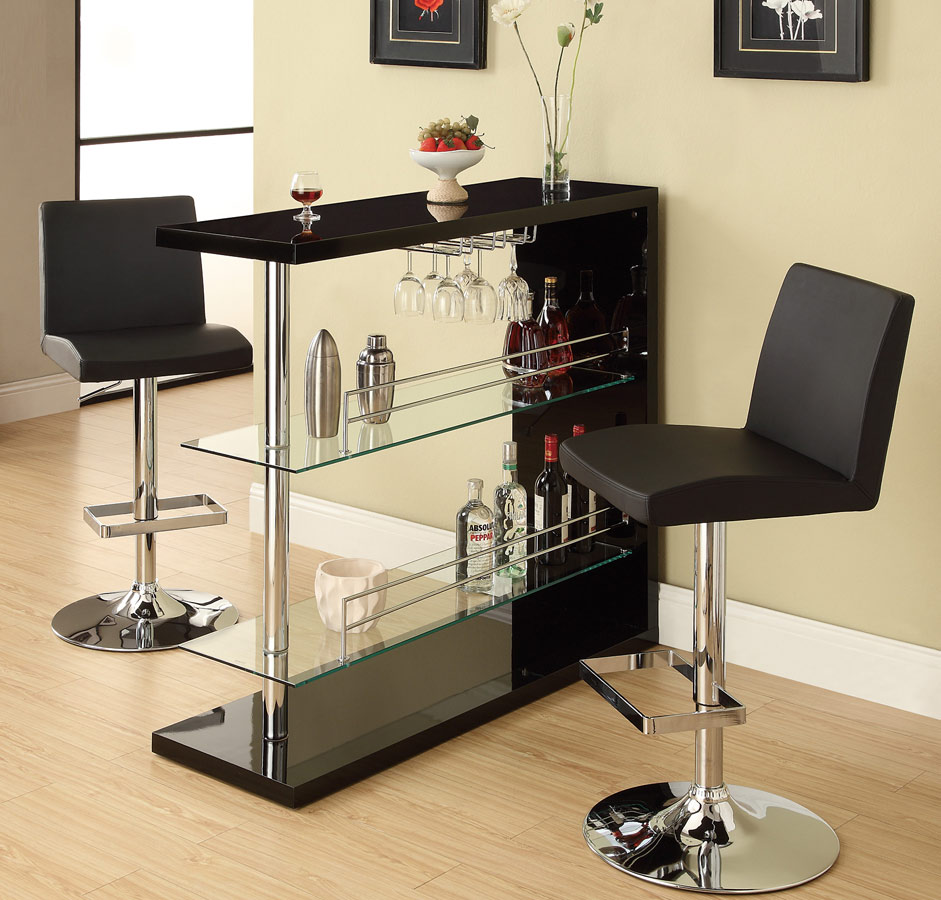 Coaster 100165 Bar Table - Black