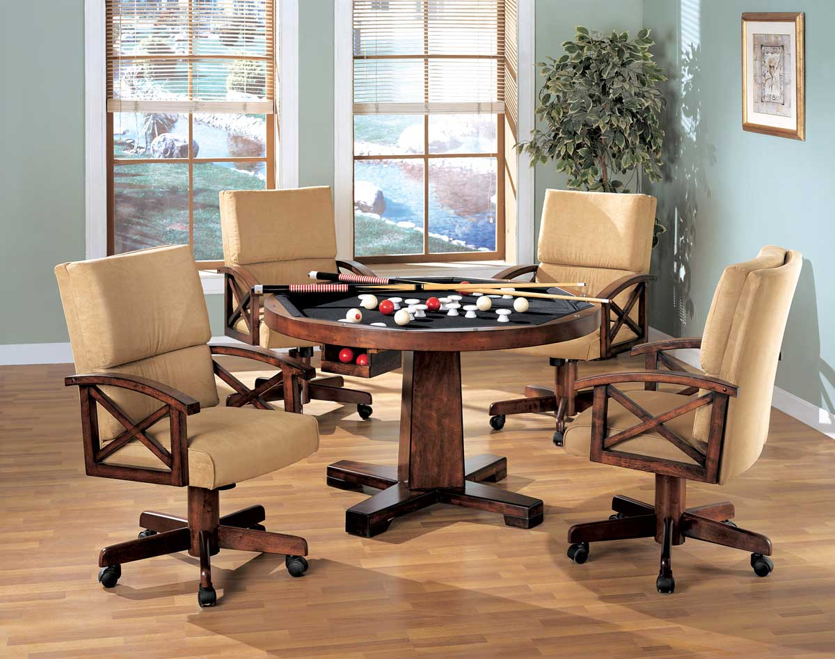 Coaster Marietta 3-in-One Game Table Set