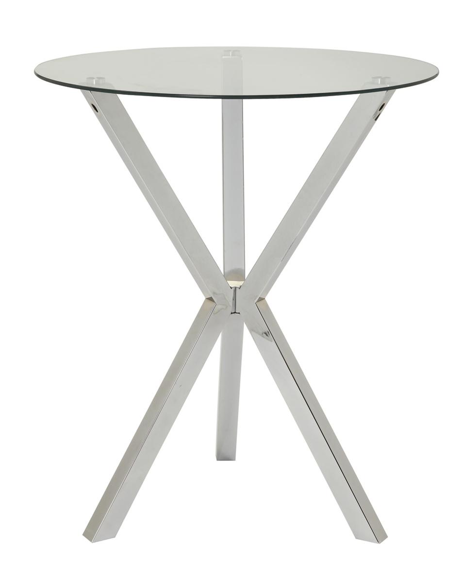 Coaster 100186 Bar Table - Chrome
