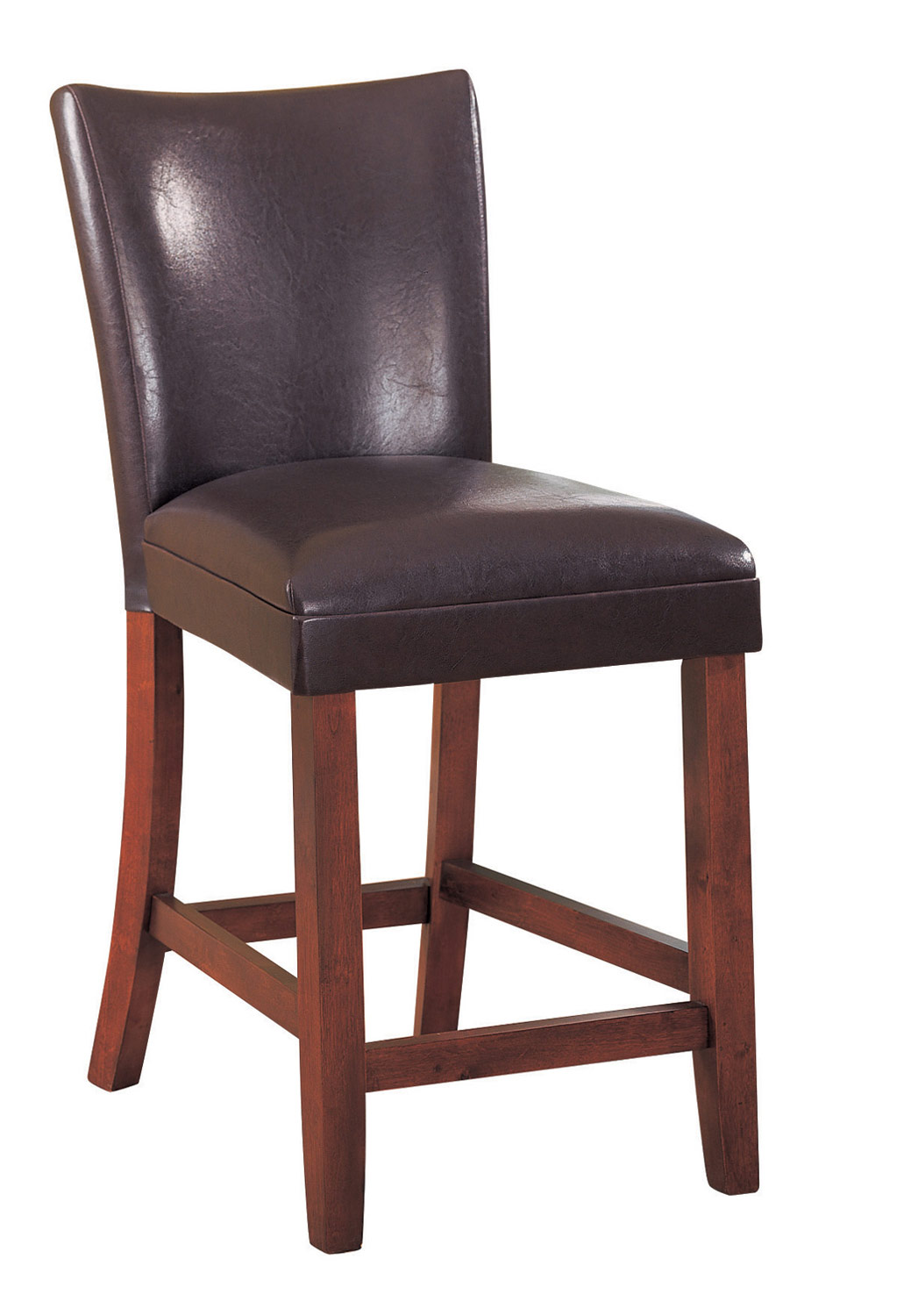 Coaster Parson Counter Height Stool Dark Brown 100358 At