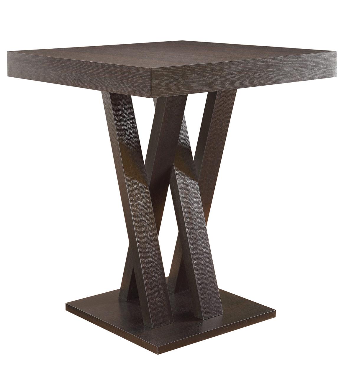 Superieur Coaster 100523 Counter Height Table   Cappuccino