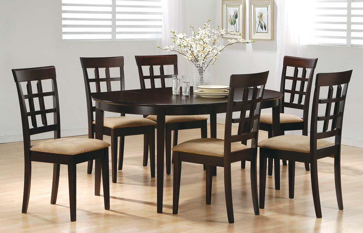 Coaster Mix and Match Oval Dining Table