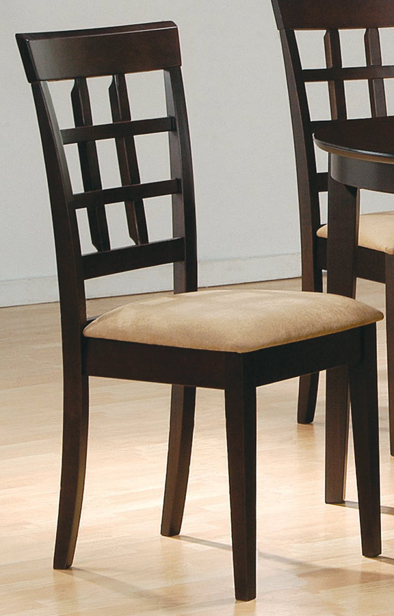 Coaster Mix and Match Wheat Back Chair 100772
