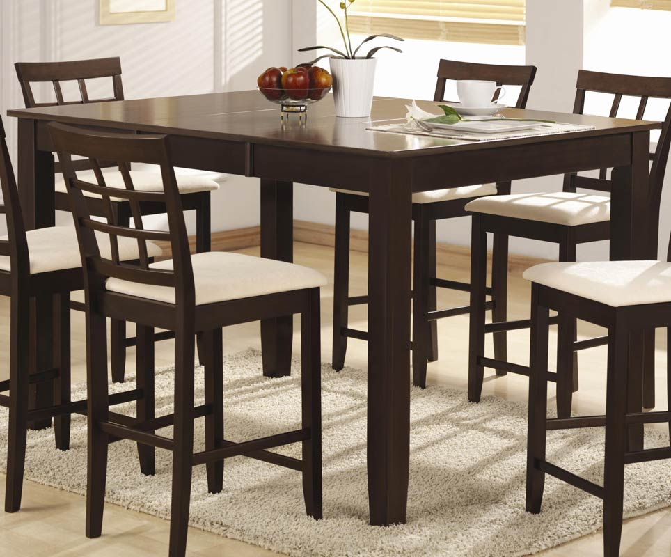 Coaster Jonesboro Rectangular Counter Height Dining Set