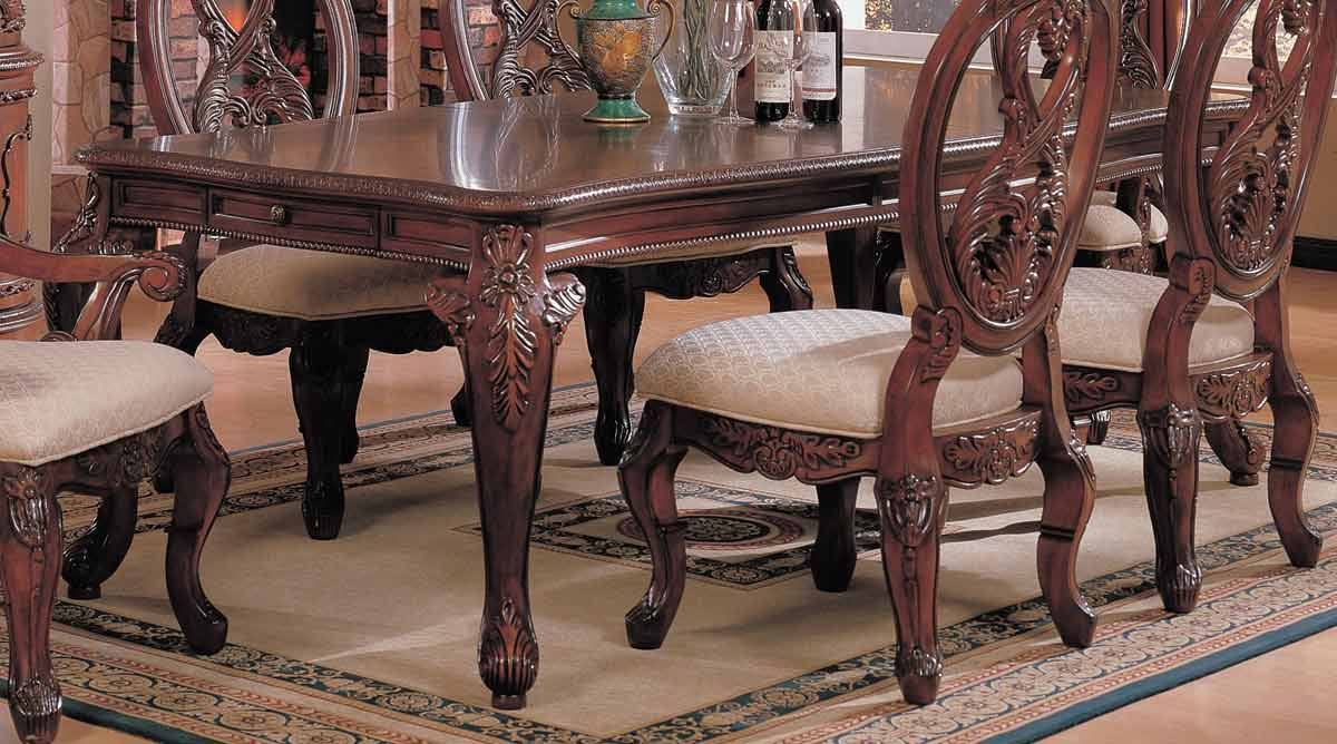 Coaster nottingham dining table at homelement