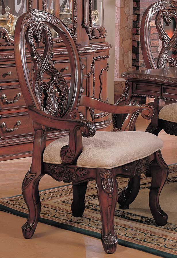 Coaster nottingham arm chair 101023 at for Furniture nottingham