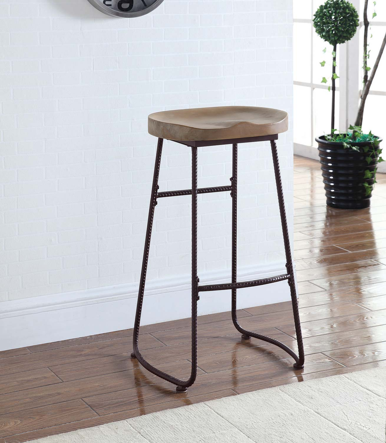 Coaster 101086 30 Inch Bar Stool - Dark Bronze