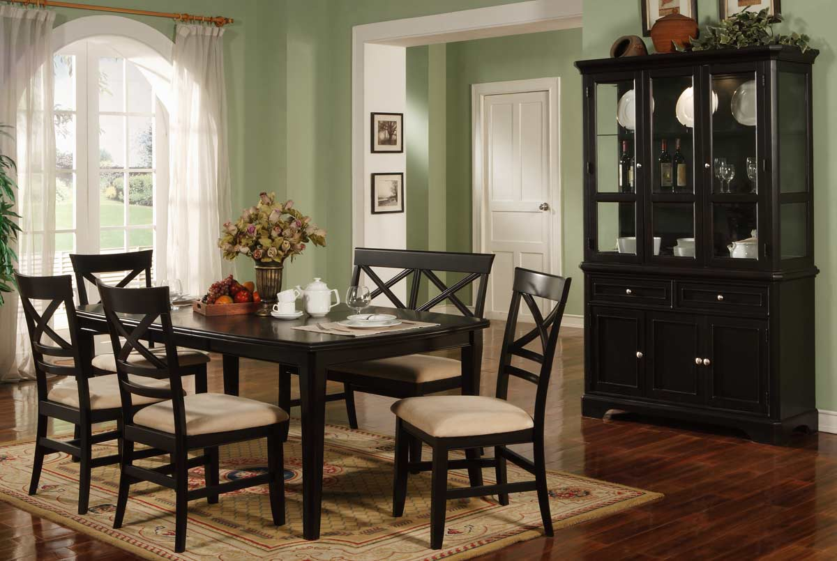 Coaster Sheldon Dining Collection - Black