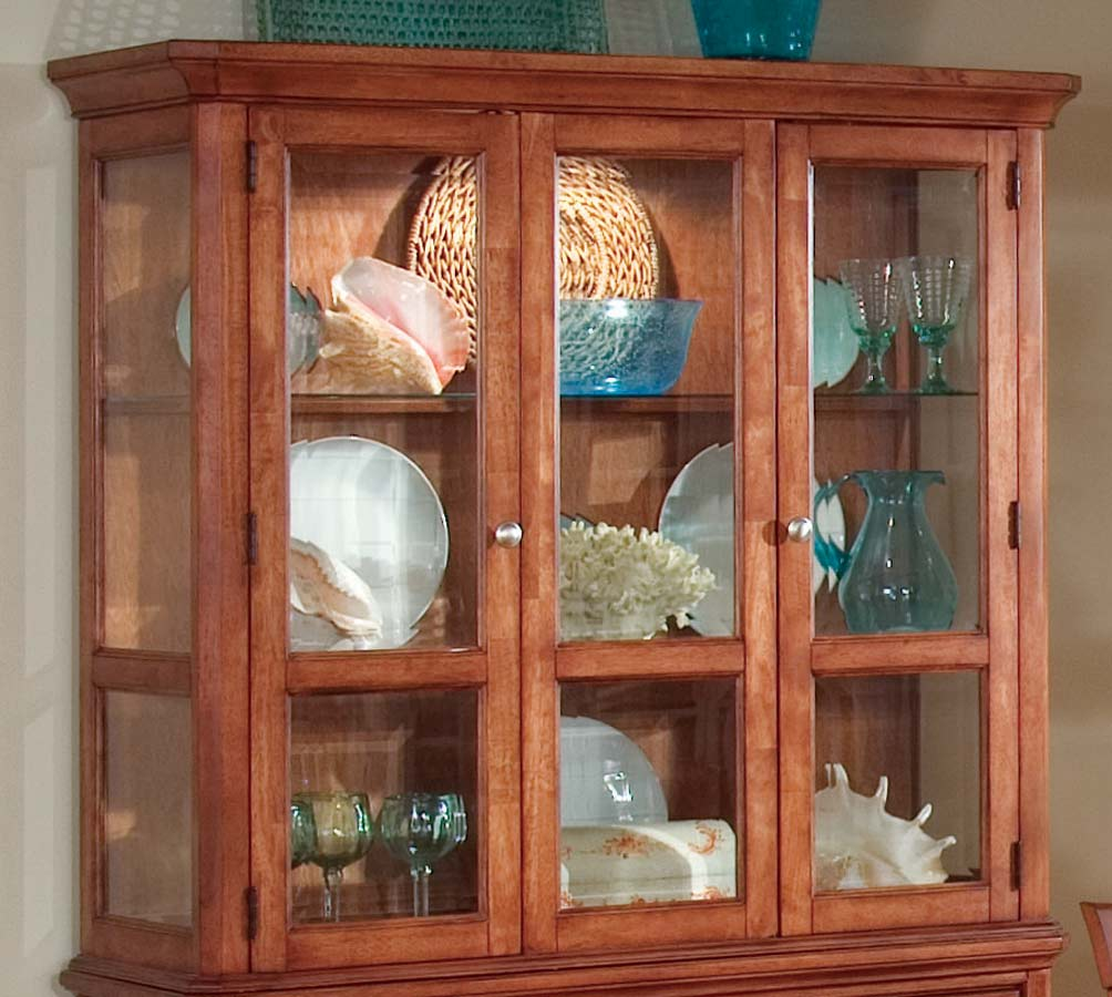 Coaster Sheldon China Cabinet - Walnut
