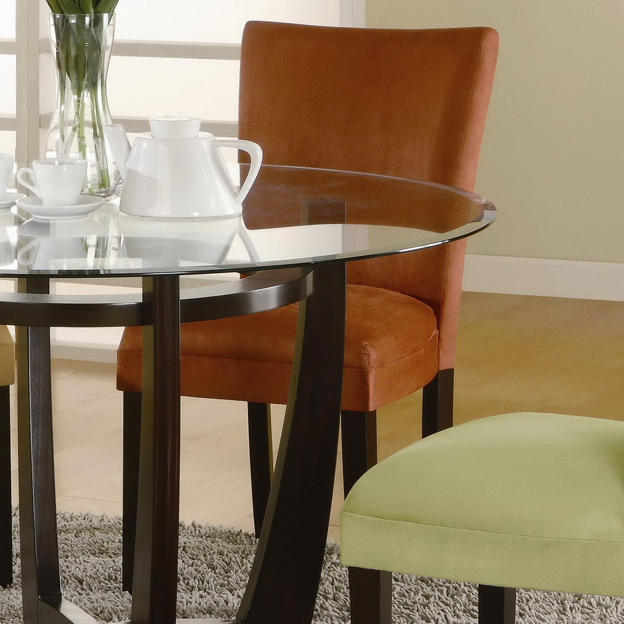 Coaster Castana Round Dining Set