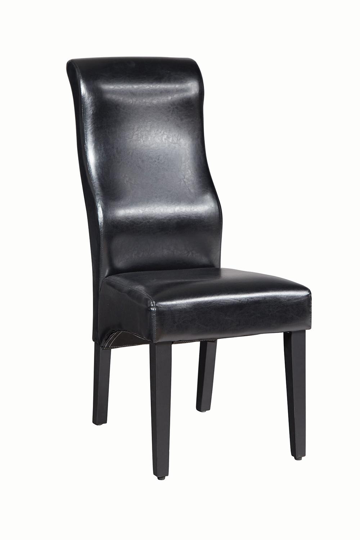 Coaster Augustin Side Chair - Black