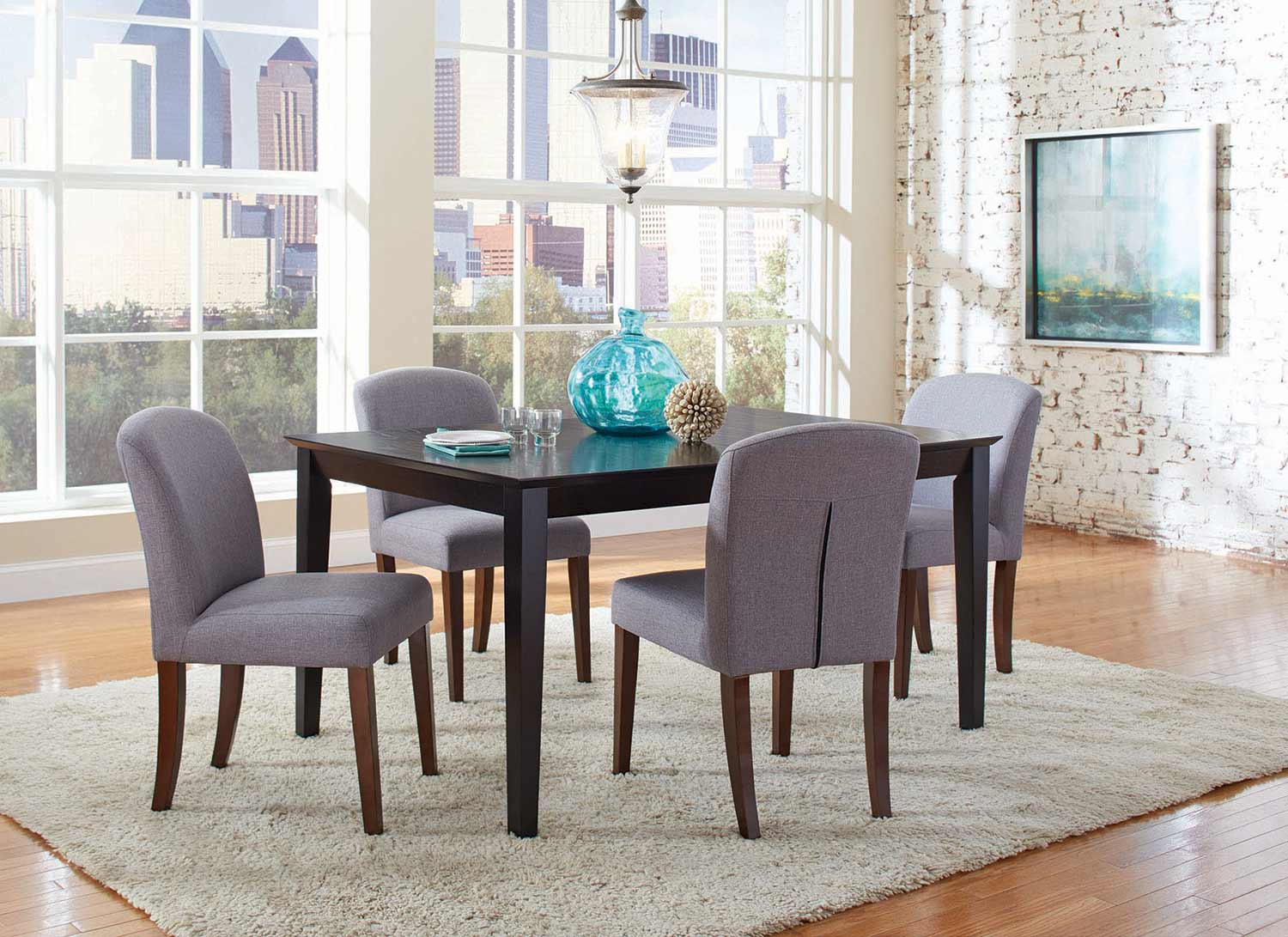 Coaster Louise Rectangular Dining Set