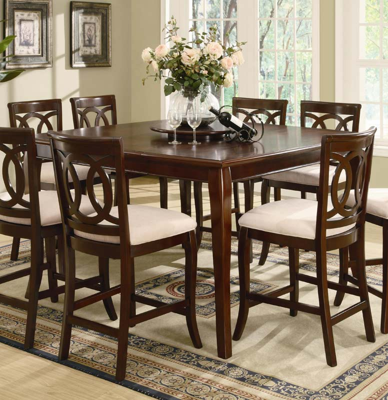Coaster Caden Counter Height Dining Set
